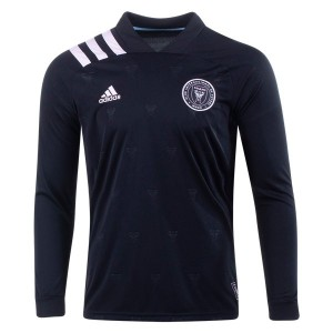 Inter Miami CF 2020 Long Sleeve Away Jersey by adidas