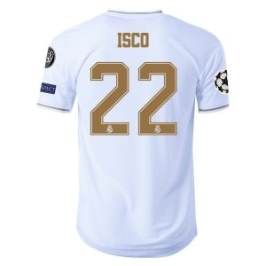 Isco Real Madrid 19/20 Authentic UCL Home Jersey by adidas