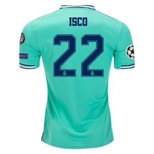 Isco Real Madrid 19/20 UCL Third Jersey by adidas