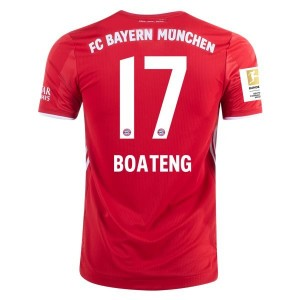 Jérôme Boateng Bayern Munich 2020/21 Authentic Home Jersey by adidas