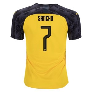 Jadon Sancho Borussia Dortmund 19/20 Cup/Third Jersey by PUMA