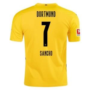 Jadon Sancho Borussia Dortmund 2020/21 Home Jersey by PUMA