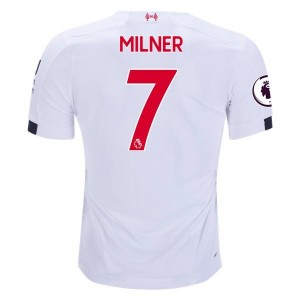 James Milner Liverpool 19/20 Away Jersey by New Balance