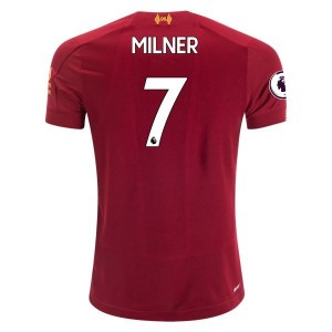 James Milner Liverpool 19/20 Youth Home Jersey by New Balance