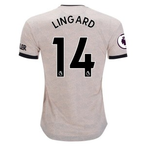 Jesse Lingard Manchester United 19/20 Authentic Away Jersey by adidas