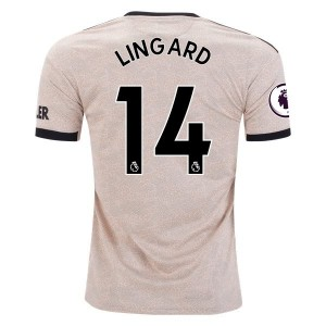 Jesse Lingard Manchester United 19/20 Away Jersey by adidas