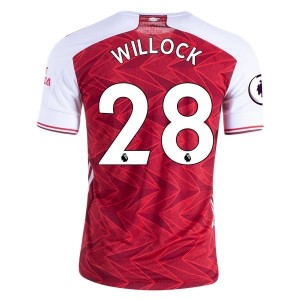 Joe Willock Arsenal 20/21 Authentic Home Jersey by adidas