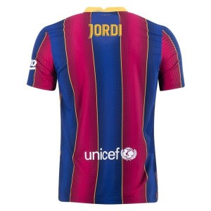Jordi Alba Barcelona 20/21 Authentic Home Jersey by Nike