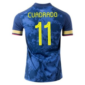 Juan Cuadrado Colombia 2020 Away Jersey by adidas