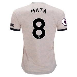 Juan Mata Manchester United 19/20 Authentic Away Jersey by adidas