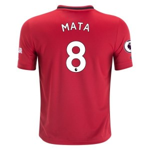 Juan Mata Manchester United 19/20 Youth Home Jersey by adidas