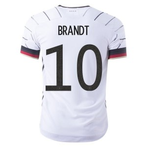 Julian Brandt Germany Euro 2020 Authentic Home Jersey by adidas