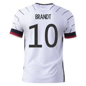 Julian Brandt Germany Euro 2020 Home Jersey by adidas