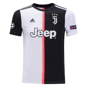 Juventus 19/20 Youth UCL Home Jersey by adidas