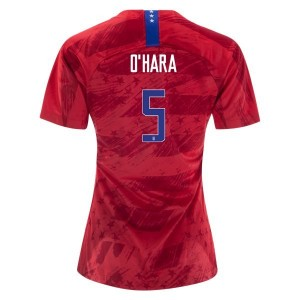 Kelley O'Hara USWNT 2019 4-star Away Jersey by Nike