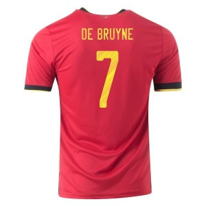 Kevin De Bruyne Belgium Euro 2020 Home Jersey by adidas