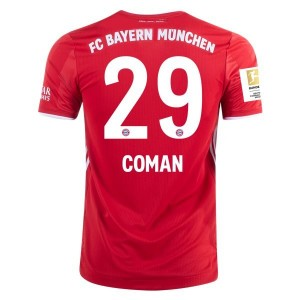 Kingsly Coman Bayern Munich 2020/21 Authentic Home Jersey by adidas