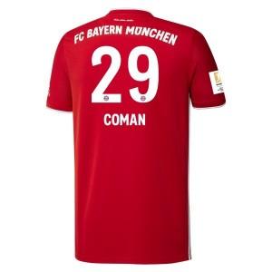 Kingsly Coman Bayern Munich 2020/21 Home Jersey by adidas