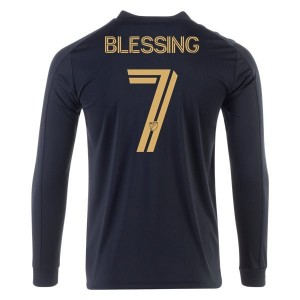 Latif Blessing LAFC 2020 Long Sleeve Home Jersey by adidas