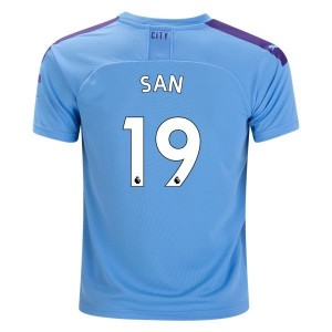 Leroy Sane Manchester City 19/20 Home Jersey by PUMA