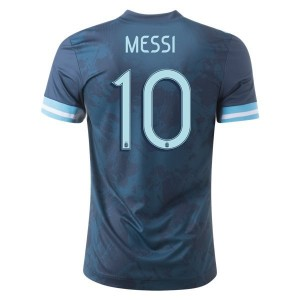 Lionel Messi Argentina 2020 Authentic Away Jersey by adidas