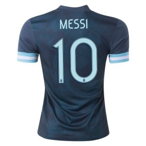 Lionel Messi Argentina 2020 Away Jersey by adidas