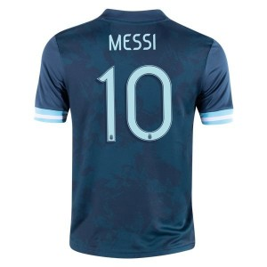 Lionel Messi Argentina 2020 Youth Away Jersey by adidas