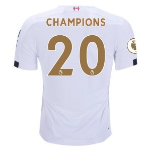 Liverpool 2019/20 Gold Champions Away Jersey by New Balance