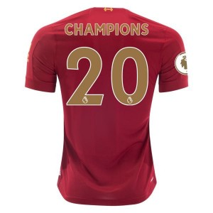 Liverpool 2019/20 Gold Champions Home Jersey by New Balance