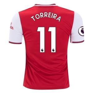 Lucas Torreira Arsenal 19/20 Home Jersey by adidas