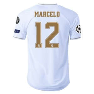 Marcelo Real Madrid 19/20 Authentic UCL Home Jersey by adidas