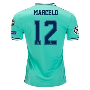 Marcelo Real Madrid 19/20 UCL Third Jersey by adidas