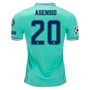 Marco Asensio Real Madrid 19/20 UCL Third Jersey by adidas