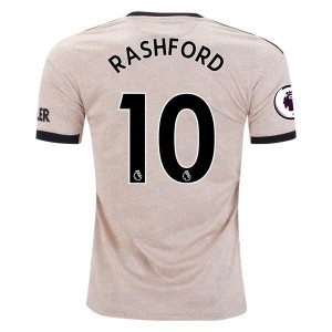 Marcus Rashford Manchester United 19/20 Away Jersey by adidas