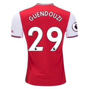 Matteo Guendouzi Arsenal 19/20 Authentic Home Jersey by adidas