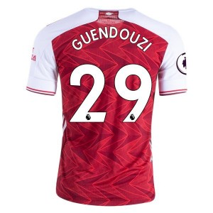Mattteo Guendouzi Arsenal 20/21 Authentic Home Jersey by adidas
