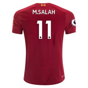 Mohamed Salah Liverpool 19/20 Youth Home Jersey by New Balance