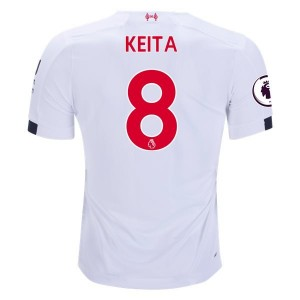 Naby Keita Liverpool 19/20 Away Jersey by New Balance