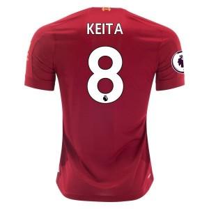 Naby Keita Liverpool 19/20 Home Jersey by New Balance