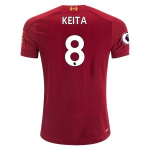 Naby Keita Liverpool 19/20 Youth Home Jersey by New Balance