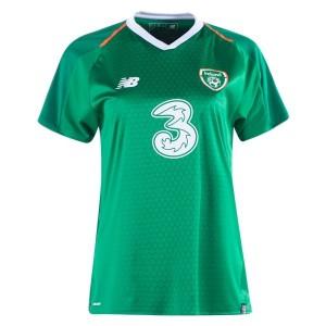 New Balance Ireland Women's Home Jersey 2018