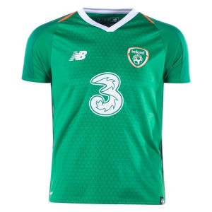 New Balance Ireland Youth Home Jersey 2018