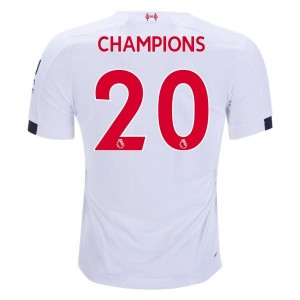 New Balance Liverpool Champions Away Jersey 2019/20