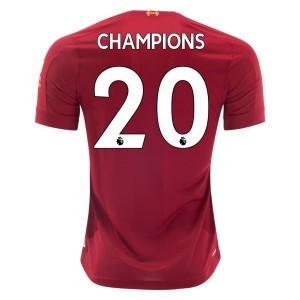 New Balance Liverpool Champions Home Jersey 2019/20