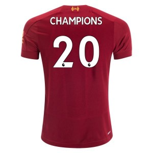 New Balance Liverpool  Champions Youth Home Jersey 2019/20