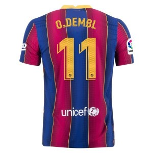 Ousmane DEMBÉLÉ Barcelona 20/21 Authentic Home Jersey by Nike
