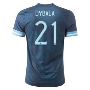 Paulo Dybala Argentina 2020 Authentic Away Jersey by adidas