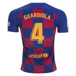 Pep Guardiola Barcelona 19/20 Home Jersey by Nike
