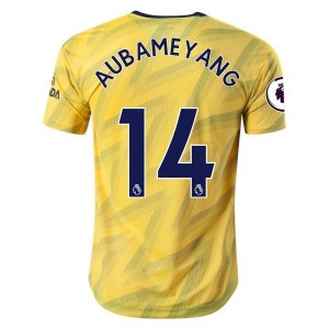 Pierre-Emerick Aubameyang Arsenal 19/20 Authentic Away Jersey by adidas
