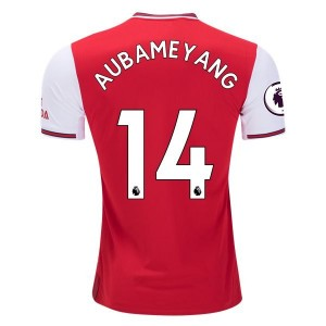 Pierre-Emerick Aubameyang Arsenal 19/20 Authentic Home Jersey  by adidas